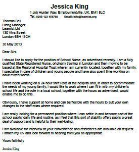 Sample cover letter graduate school admission